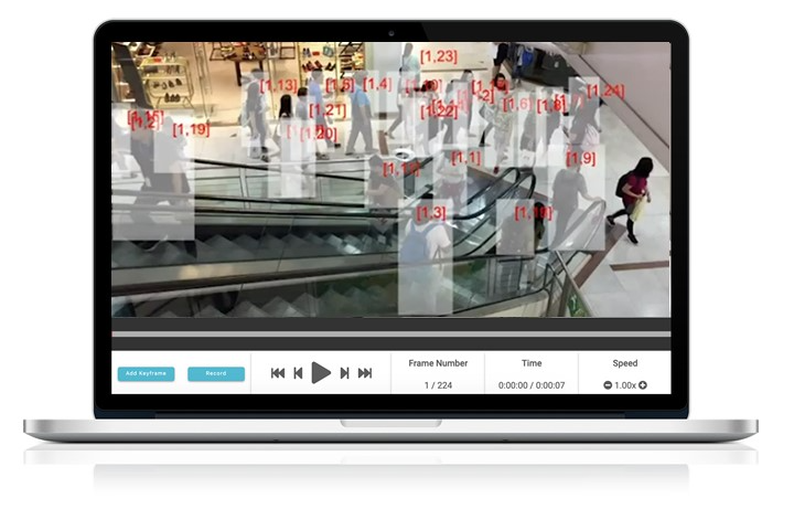Automated Body Detection software facilitates efficient redaction of CCTV video footage